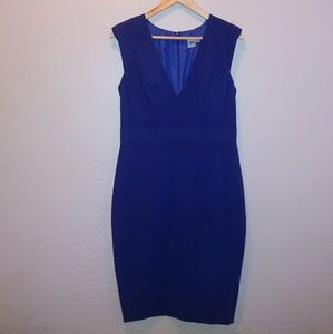 ASOS Cobalt Blue Sheath Sleeveless Dress